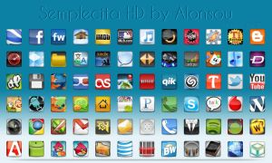 Semplecita HD Icon pack by Alonsou