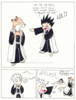 Bleach Comic by comixqueen