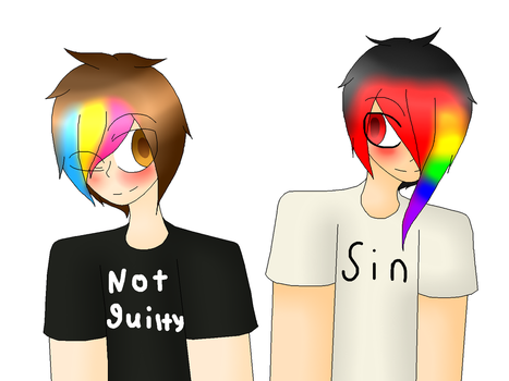 Sin And Not Guilty  by xXYuki-The-WolfXx