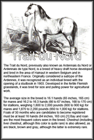Breed Card Trait Du Nord by Danesippi