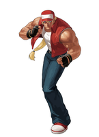 Terry Bogard Vector by anubis55