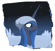 ink - winter luna by zlack3r