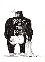 Rogues in the House Monkey by Dioworship