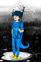 John and Rain by PaperPlatePhace