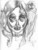 Day of the Dead Girl by Wessel