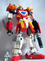 Lego Gundam Heavy Arms 2 by Evil-Cozmo