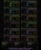 Zerg UI Overlay - 12 color schemes by Dexistor371