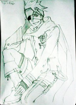 Lavi: pencil work by love-kanda