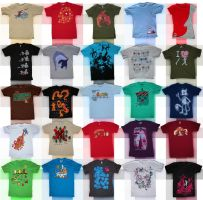 honey bunches of shirts by chunkysmurf