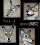 Wolf Fursuit Head by whitewolf