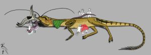 Dissection of the Staglizard by ZoPteryx