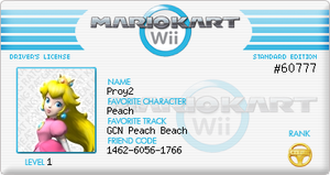 My Mario Kart Licenses by Proy2