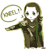 KNEEL! by Mikiku