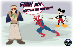 Disney Buys Marvel by simpleCOMICS