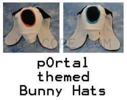 Opposite Portal Bunny Hats by HatcoreHats