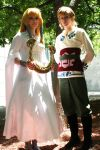 Fanime 2012: Zelda and Link by Malindachan