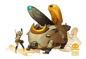 P.I.G. Mobile MILKK Launcer by RobinKeijzer