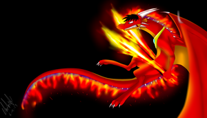 AT.: Jet Fire :. (SPEED PAINT) by LunaSolctice