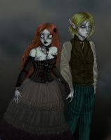 A Ragdoll and Her Nosferatu by taloose