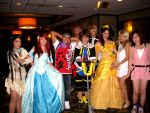 Disney Princesses and KH Kids by HaveYouMetMark