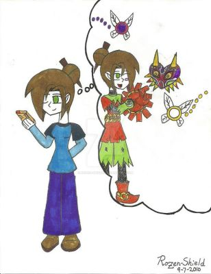 Cosplay idea :Skullkid by Rozen-Shield
