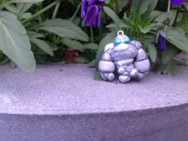 World of Warcraft, stone elemental. Polymer clay by Juulvh