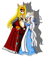 King Alexander and Queen Mellina by RoX-Ann