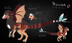 Ryuna Ref Sheet by Reneah