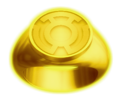 Sinestro Lantern Ring by KalEl7