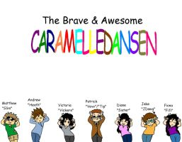 The Brave And Awesome Caramelldansen by heathinvader