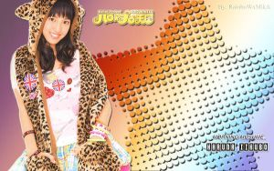 Wallpaper Momusu Winter 2012 Haruna ver by RainboWxMikA