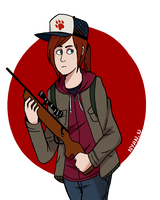TLOU: Ellie by NyanNekiro
