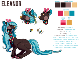 Eleanor - Giraffebrooary Contest Entrant by XNedra22