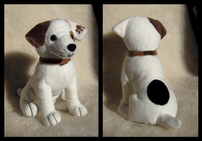 Wishbone Sitting Plush Beanbag by The-Toy-Chest