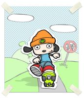 parappa the rapper fanart by metallic-grass