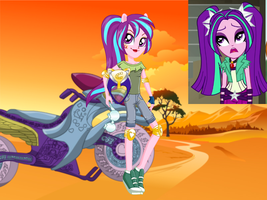 Aria Blaze: Friendship Games by BerryPunchrules