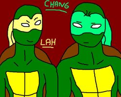 New OC Lah and Chang by SwedenGirl