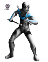 Nightwing render by Bladiaman