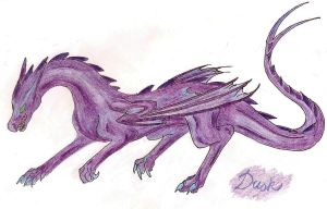 Basilisk: attempt 2 coloured by BuffyandBramble