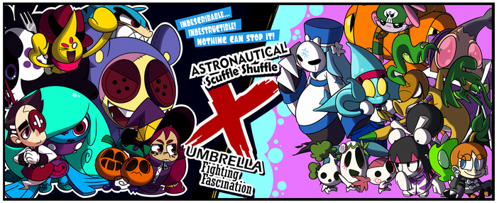 Astronautical X Umbrella Fighter Ultimate Remix! by Coonstito