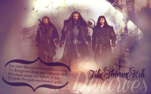 Fili Thorin Kili by JacobBlacksPrincess