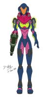 Samus Aran Varia Suit (Fusion) by D-Arm