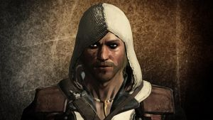 Edward Kenway Portrait Painting by Binary-Map