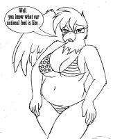 Patricia the Fatty by Barn-flakes