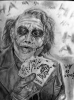 Joker Drawing by DiegoE05