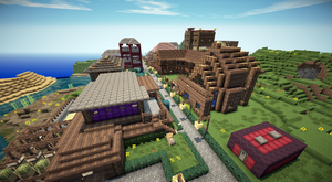 Beginning of the Communityarea of ConnectCraft by At-MsUpload