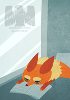 Fox calendar illustration 10 by Chigle
