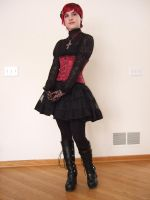 Gothic Lolita 3 by Stocked-N-Loaded