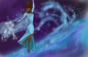 Legend of Korra: the Snow Queen by spikeandshay
