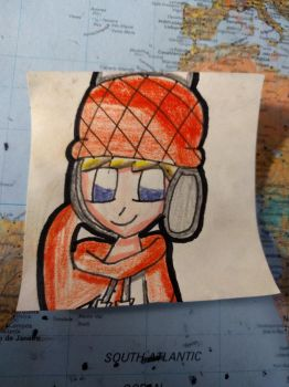 Art on a sticky note: Pop'n Music Cookie by Daniela56438